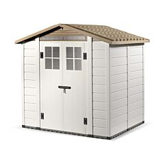 Shire Tuscany PVC Shed - 7ft x 5ft