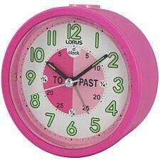 Lorus Kids Time Teacher Beep Alarm Clock - Pink