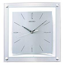 Seiko Elegant Wall Clock - Silver