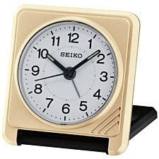 Seiko Travel Alarm Clock - Gold
