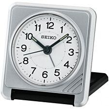 Seiko Travel Alarm Clock - Silver