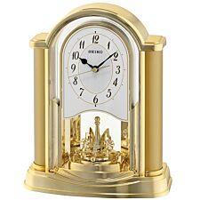Seiko Swinging Bird Pendulum Wall Clock with Wood Effect Case - Brown