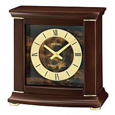 Seiko Westminster/Whittington Dual Chime Mantel Alarm Clock