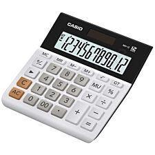 Casio Wide 12 Digit Calculator - White