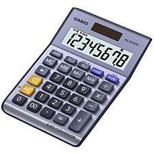 Casio Desk Calculator with Euro Conversion