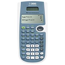 Texas TI30XS Solar Scientific Calculator with Multi-Line Display