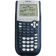 Texas TI84 PLUS Graphic Calculator with USB Technology