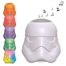 Lexibook Star Wars Stormtrooper Bluetooth Speaker with Multi Coloured Lights