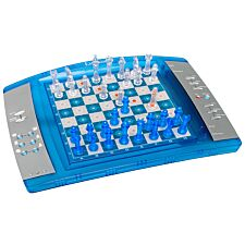 Lexibook Chesslight Electronic Chess Game with Touch Sensitive Keyboard - Blue