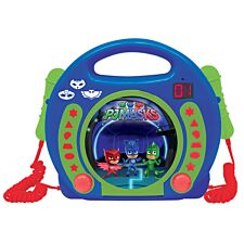 Lexibook PJ Masks CD Player with Microphones