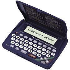 Seiko Oxford Crossword Solver Pocket Edition - Blue