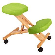 Teknik Wooden Kneeling Chair - Lime Green