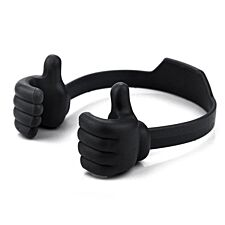 Thumbs-Up Phone Or Tablet Holder - Black