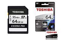 Toshiba 64GB Exceria Pro N401 SD
