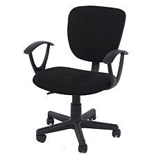 Santorini Study Chair - Black