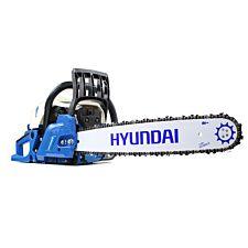 Hyundai HYC6220 62cc Petrol Chainsaw 20 inch Bar with 2 Chains & Carry Bag