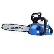 Hyundai HYC60Li Cordless Chainsaw with 60v Lithium-ion Battery and Charger including Oregon Bar and Chain