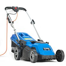 "Hyundai HYM3800E Corded Electric Lawnmower 1600W 380mm/ 38cm /15"" Cutting Width"