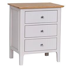 Notswood 3 Drawer Bedside Table