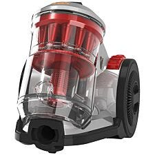 Vax CCQSAV1T1 Air Home Bagless Cylinder - Silver/Red