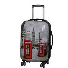 Rock 55cm Montana Expandable 8 Wheel Hard Shell Spinner Suitcase - Big Ben