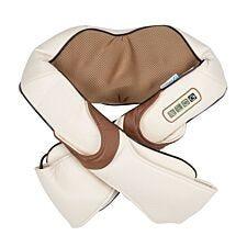PureMate PM5506GE Shiatsu Neck and Shoulder Massager with Heat - Beige