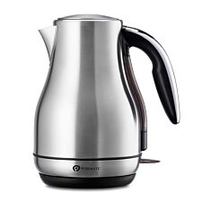 PureMate PM 1794 Stainless Steel Fast-Boil 1.7L Electric Kettle - Silver