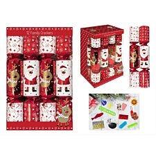 """12 X 12"""" Santa Reindeer Crackers"""