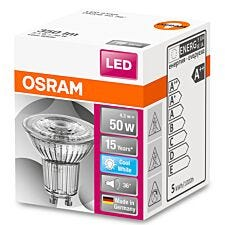Osram 50W GU10 Bulb - Cool White
