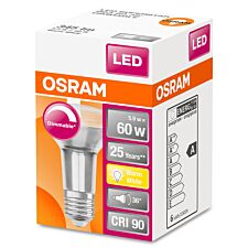 Osram Reflector R63 60W Dimmable ES Bulb - Warm White