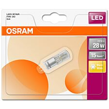 Osram 30W Clear G4 Bulb - Warm White