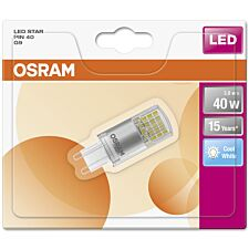Osram 40W Clear G9 Bulb - Cool White