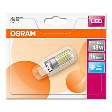 Osram 50W Clear G9 Bulb - Cool White