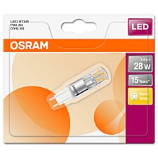 Osram G9 30W PIN Clear Bulb - Warm White
