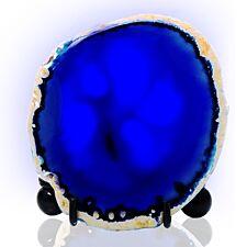 Haven Mineral Rock LED Night Light - Blue