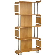 Jual Helsinki Curve Oak Bookshelf