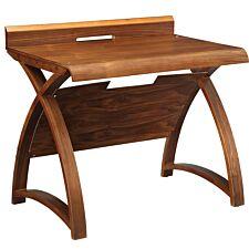Jual Santiago Curve Walnut Laptop Desk 900
