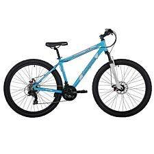 Barracuda Draco 3 27.5 Inch Wheel 21 Speed Disc Brake Mountain Bike - Blue/White