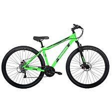 Barracuda Draco 4Frame 29 Inch Wheel 24 Speed Disc Brake Mountain Bike - Green/Black
