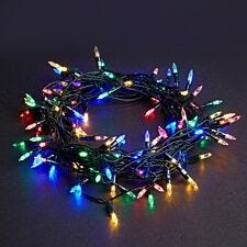 Robert Dyas Battery Operated 20 LED Fairy Lights - Multi-Colour