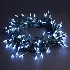 Robert Dyas Battery Operated 20 LED Fairy Lights - Ice White