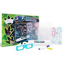 Doodle 3D Dinosaur Magic Drawing Board