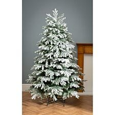 6ft Robert Dyas Mix Tip Flocked Christmas Tree