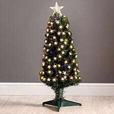 3ft Robert Dyas Grosvenor Fibre Optic Tree