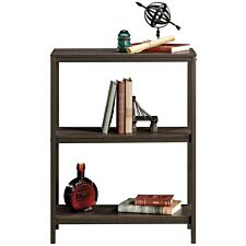 Industrial Style 2 Shelf Bookcase Smoked Oak
