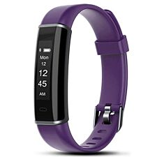 Aquarius AQ113HR Fitness Tracker With Heart Rate Monitor - Purple