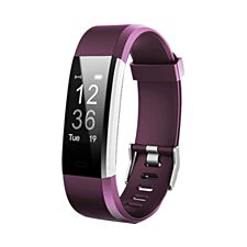 Aquarius AQ125HR Fitness Tracker With Heart Rate Monitor – Purple
