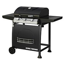 George Foreman 3 Burner Gas BBQ