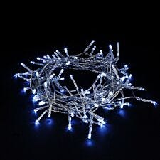 Robert Dyas Battery Operated LED Transparent String Lights - Ice White