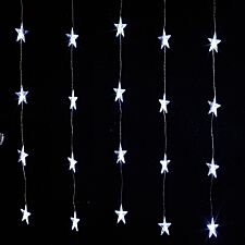 Robert Dyas Mains Operated 24 LED Star Curtain Lights